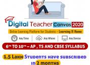 Digital teacher canvas 2020