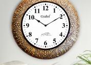 Select antique wall clocks online @ wooden street