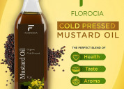 100% pure wood pressed mustard oil