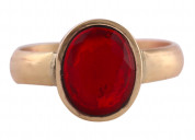 Natural certified ruby(manik) gemstone panchdhatu