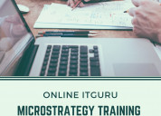 Online micro strategy training