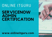 Servicenowadmin training with experts
