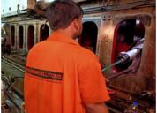 Crankshaft grinding and onsite crankshaft repair