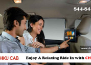 Enjoy a relaxing ride in our clean and comfortable