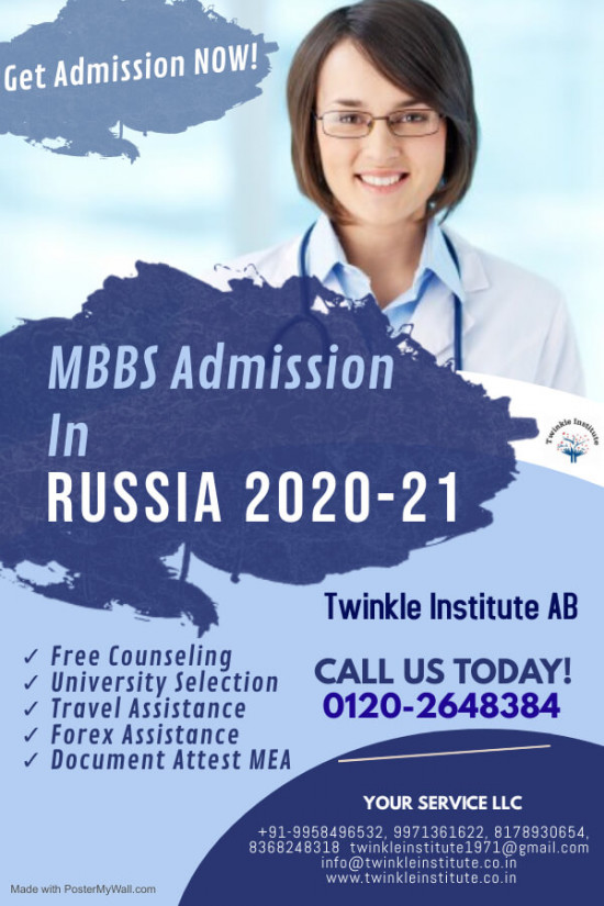 Best MBBS college in Russia 2020-21 Twinkle Instit