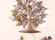 Buy decorative wall hangings online @wooden street