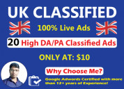 Best uk classified ads poster
