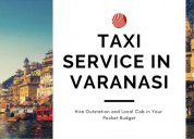 Cab in varanasi with the driver at the lowest fare