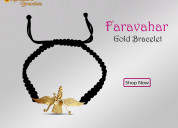 Shop faravahar bracelet in gold