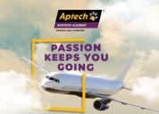 Aptech noida ground staff and hospitality course