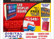 Ad media solution - sign boards and printing