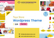Toys store wordpress theme