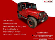 Get your thar vehicles modified - vin4x4 hardtops
