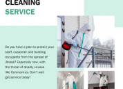 Get home cleaning and sanitizing services