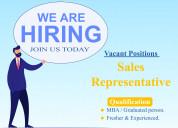 Feild sales representative