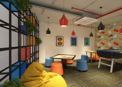 Cost effective coworking space in south delhi - i