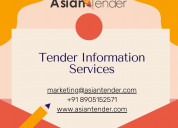 View latest government tenders details | asiantend