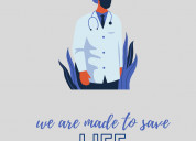 Saving life make us happy.