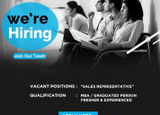 Field sales marketing representative