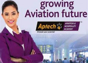 Aptech noida-air hostess and ground staff course