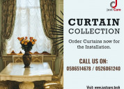 Curtains and blinds installation services in dubai
