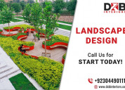 Best landscape design services in lahore