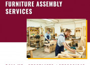 Furniture assembly services 24x7 in dubai