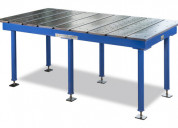 Bed clamping & platen welding table