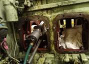 Details of crankshaft grinding and repair