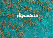 Buy turquoise blue organza fabric