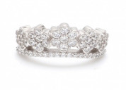 Best design of crown ring online from ornatejewels