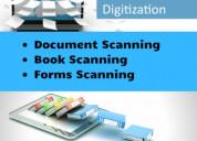 Documents digitization scanning workplace