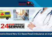 Receive ambulance in patna with cardiac facility