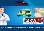 Avail ambulance in gaya with cardiac facility