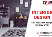 Best interior design services in lahore