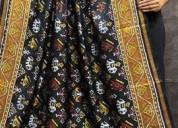 Buy latest ikat patola pure silk dupatta online