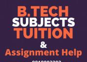 B.tech tuitions in delhi
