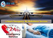 Obtain sky air ambulance service in gaya