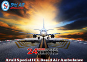 Get perfect emergency air ambulance service in goa