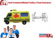 Book india's best emergency ambulance in patna