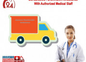 Choose trusted cardiac ambulance service in gaya