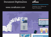 Documents scanning services  into digital workplac