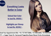 Hair treatment hair color