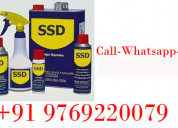 Ssd chemical for black dollar cleaning chemmical