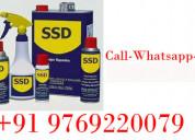Ssd chemcial solution for black dollar