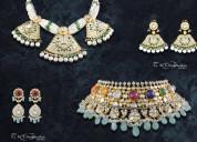 Get fusion diamond jewellery in jaipur