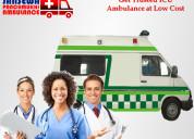 Receive superior icu ambulance in sri krishna puri