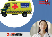 Obtain finest medical assistance in road ambulance