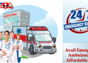 Book ground ambulance service in mahendru