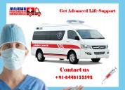 Avail brand new ccu based ambulance in kurji
